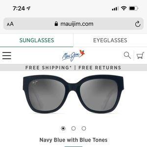 Maui Jim Sunglasses MJ790-98. Navy